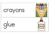 school word cards - Pinned by @PediaStaff – Please Visit ht.ly/63sNtfor all our pediatric therapy pins