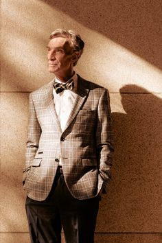 Bill Nye on Science, Space and Bow Ties