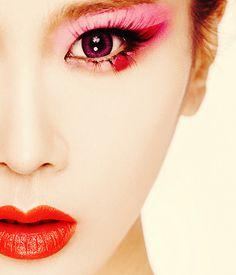 Japan ....  Geisha ... make up
