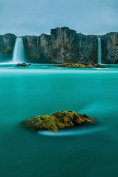 Waterfall of Gods iceland