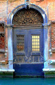 Venice Blues, Venice, Italy blue portal
