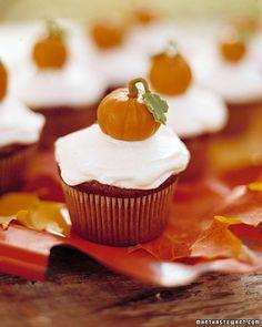 Pumpkin Cupcakes de Martha Stewart