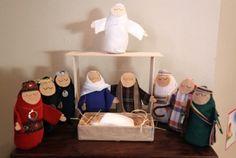 Bean Bag Nativity