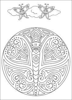 Mandala de papallona