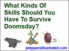 Skills To Survive Doomsday