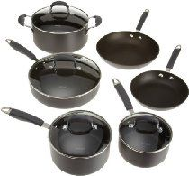 Oneida Gourmet Pro Hard Anodized 10-Piece Set