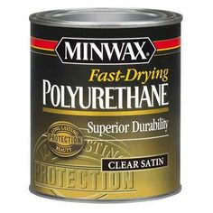 Interior fast-drying oil-based poly is great for caabinets, floors, furniture, and trim such as wainscot, where abrasion resistance and durability are important. | thisoldhouse.com
