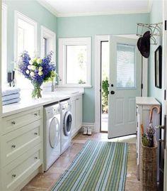 perfect laundry room! :)