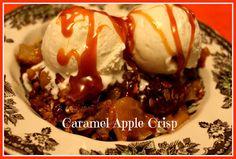 Sweet Tea and Cornbread: Caramel Apple Crisp!