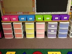 Mrs. Hodge and Her Kindergarten Kids: LOOK-- A facelift for my storage units!