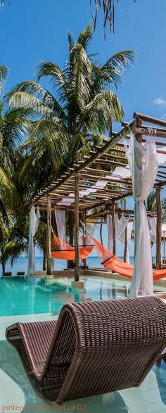 la isla, pool, dream, san pedro, belize