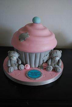 Me to you bear giant cupcake.