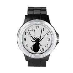 Black Spider Watch http://www.zazzle.com/black_spider_watch-256830040308449855?rf=238271513374472230