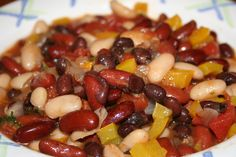 Jamaican Chili - A vegetarian chili with a Jamaican flair.