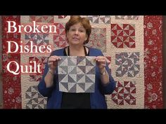 Love this block tutorial! Jenny Doan shows how to make the stunning traditional Broken Dishes quilt block using precut fabrics (either layer cakes or charm packs).