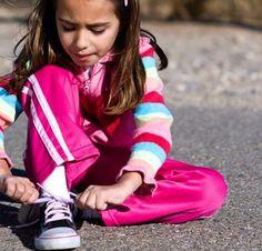 Shoe tying tips