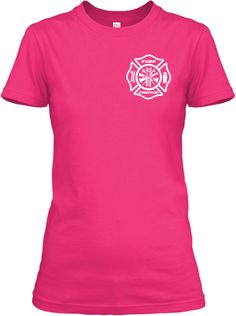 Firefighters Wife T shirt... so cute! Keep Back 200 Ft. Women's T-shirt