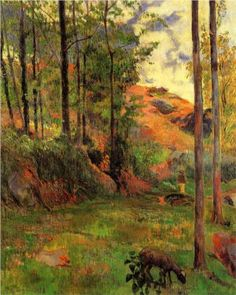 Path down to the Aven - Paul Gauguin