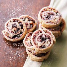 Blackberry Strudel Cookies