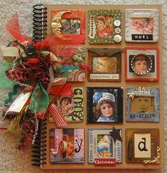 christmas cards, album covers, vintag christma, vintage christmas, christmas art