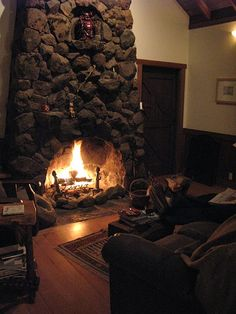 cozzyyy cabin, stone work, dream houses, stone fireplaces