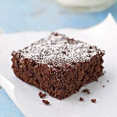 Dark Chocolate and Cherry Brownies | CookingLight.com