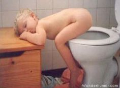 this would totally be oaklee learning to potty train and being tired of doing it. LMAO funny moments, kid pictures, funny humor, funny pictures, sleeping babies, funni, kid photos, funny kids, potty training tips