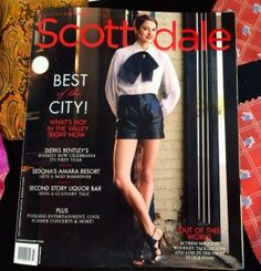"""NELSON WADE, a custom bespoke tailor in Scottsdale Arizona (www.nelsonwade.com), was selected """"Best of the City"""" by the magazine, Modern Luxury-Scottsdale. July/August 2014 issue."""