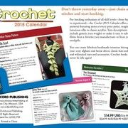 Detailed instructions and photos on the crochet calendar