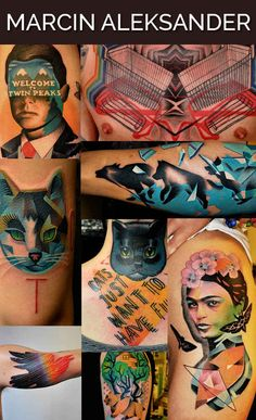 Pretty cool list of unique amazing tattoo artists around the world.