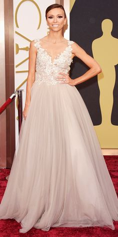 Oscars 2014 Red Carpet Arrivals - Guiliana Rancic from #InStyle