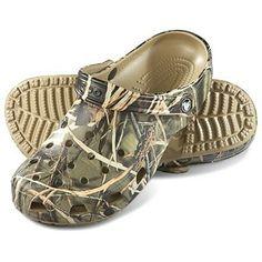 Crocs® Classic Clogs, Realtree Max4® / Khaki