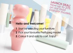 PrettyPegs for making ugly IKEA furniture more attractive. :)