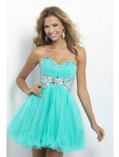 Cute Sweetheart Tulle and Beading Short Homecoming Dress - HomeComing Dresses - Special Occasion Dresses - Wedding & Events