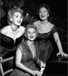 The Gabor Sisters - Zsa Zsa, Eva, and Magda