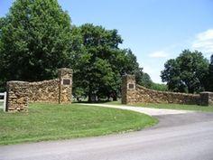 Oakwood Cemetery  Baldwin City  Douglas County  Kansas  USA
