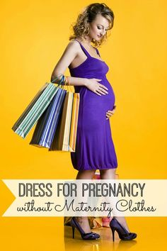 Learn how to dress for pregnancy without maternity clothes! These tips and tricks will have you feeling fashionable and fabulous.