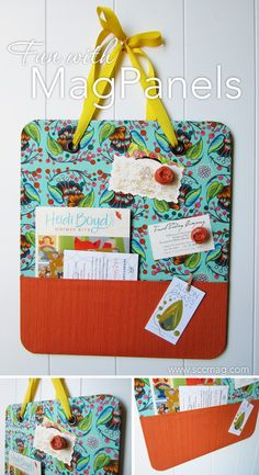 DIY Magnetic Boards with MagPanels - SCC Mag  This would work well with a flat cookie sheet