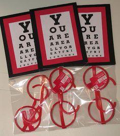 Valentine's Eye Chart