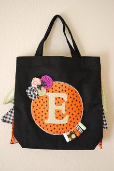 Trick or Treat Bag via Abstract Grace