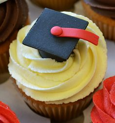 Graduation Cupcakes | Flickr: Intercambio de fotos
