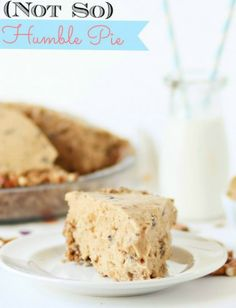 Humble Pie -- this creamy, chocolate peanut butter pie with pretzel crust is a spin on the famous Serendipity dessert!!  Seriously amazing pie.