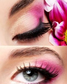 pink and liner