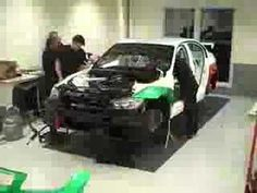 Time lapse - The build of a BMW S2000 Touring Car - YouTube
