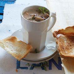 Somerset mushroom soup