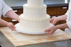 America's Test Kitchen Secrets to making a wedding cake. (And they baked happily ever after.)