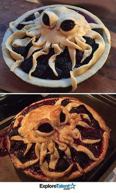 Looks like a great pie to make around Halloween.