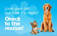 20% off Pet Care Products from Oreck