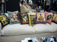 Andrew Martin The Picture Show Cushions, Pillows