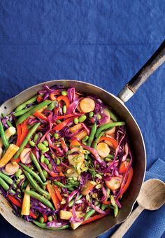 Rainbow Stir-Fry Recipe   Vegetarian Times